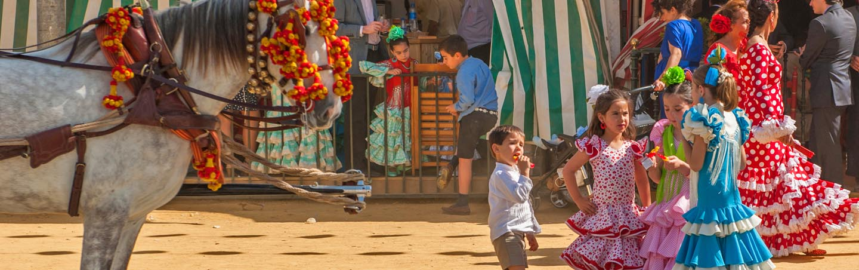 Familiereizen Andalusië