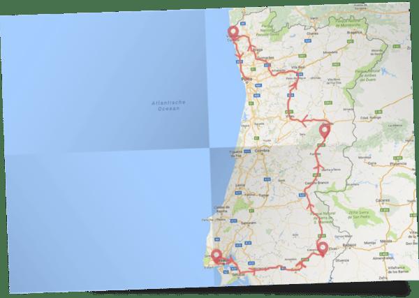 Historische Pousadas reis Portugal