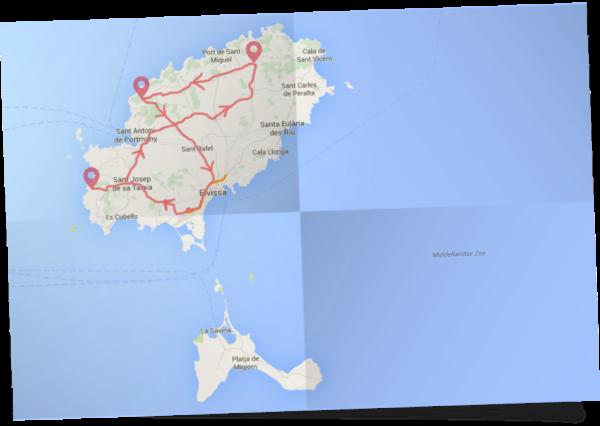 Rondreis idyllisch Ibiza deluxe