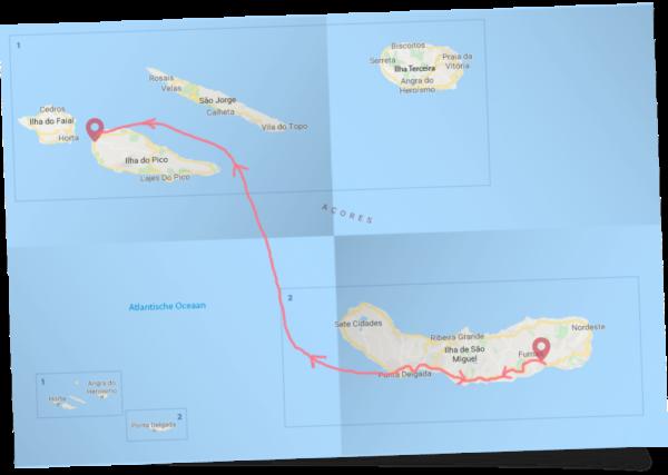 Wandelen en natuur op de Azoren