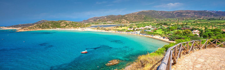 Reizen Sardinië
