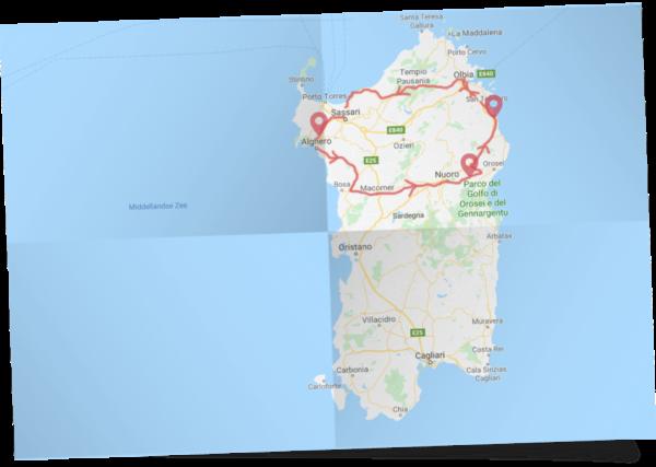 Familie rondreis Sardinië