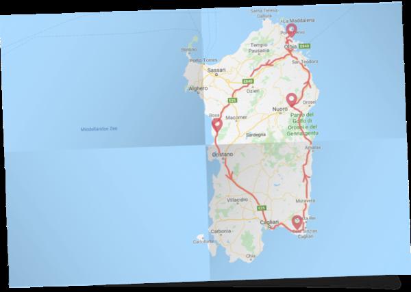 Rondreis Parels van Sardinië