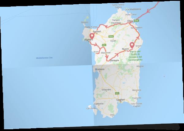 Familie rondreis Sardinië met eigen vervoer
