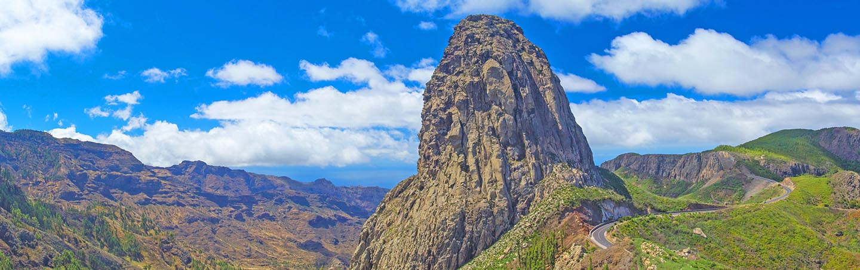 La Gomera, Canary islands, Roque de Agando